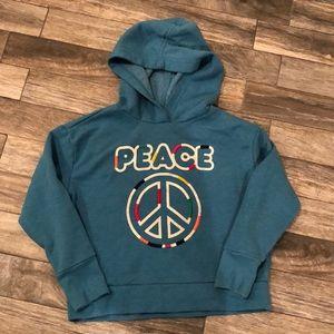 Euc Girl super soft Peace sweatshirt size medium